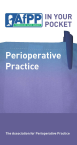 Book cover  - AfPP IN YOUR POCKET - Perioperative Practice (2nd Edition)