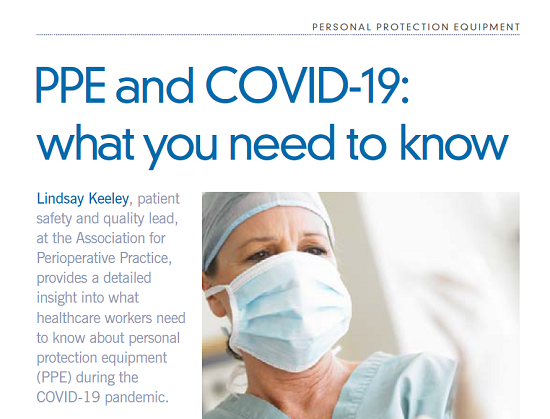 CSJ December 2020 - PPE and COVID-19: what you need to know